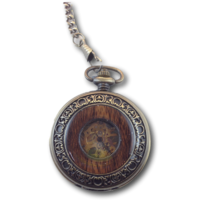 Men's Pocket Watch - Wood