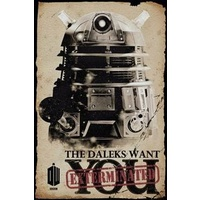 Dr Who - Dalek Wants You Poster