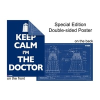 Dr Who Keep Calm Poster