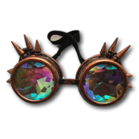 Goggles with spikes