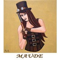 Greeting Card - Maude |