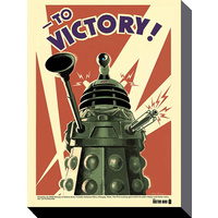 """To Victory!"" Dalek Poster"