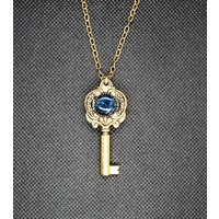 Double-Sided Steampunk Key Pendant
