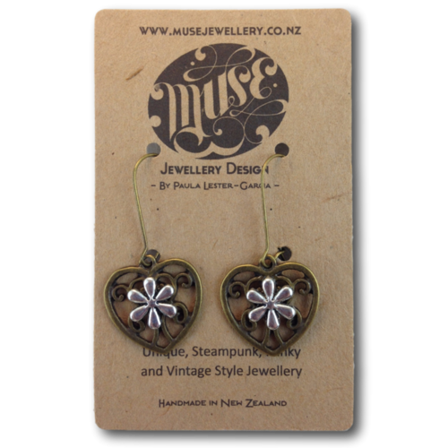 Aroha Flower Earrings