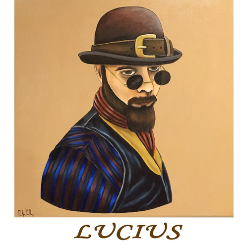 Greeting Card - Lucius